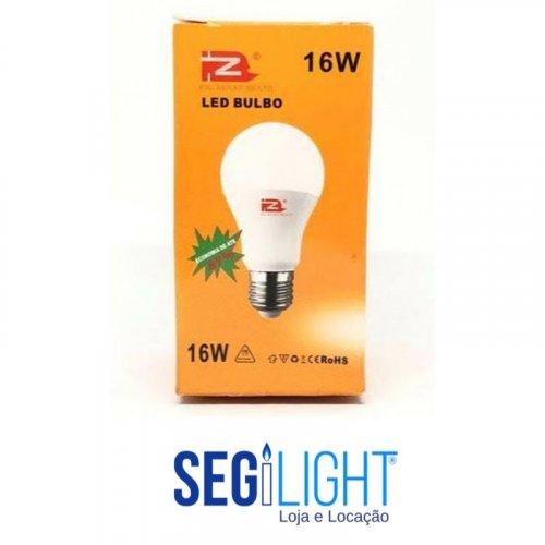 lampada de led 16w branco frio na caixa