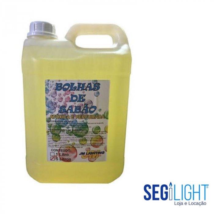 liquido para bolha de sabão