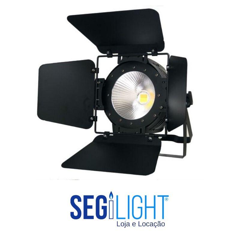 Fresnel de LED para iluminação nas lives