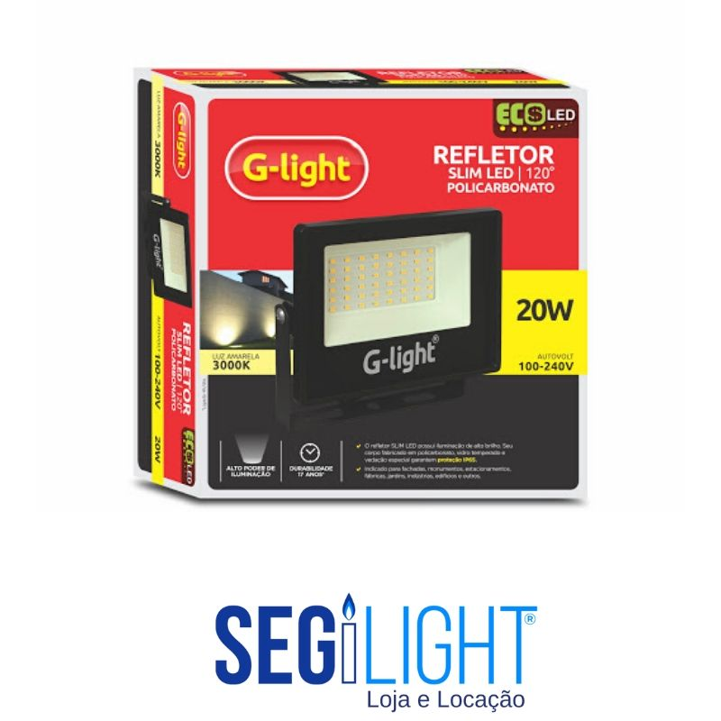 Refletor de led Slim G-light