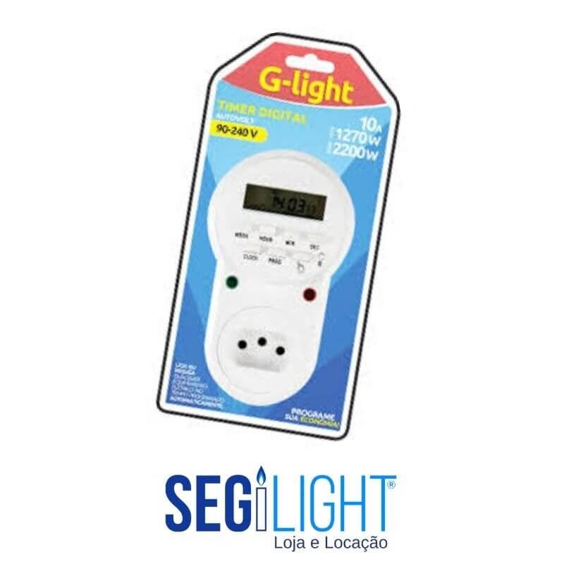 timer digital/ temporizador, para programar os seus equipamentos e economizar energia