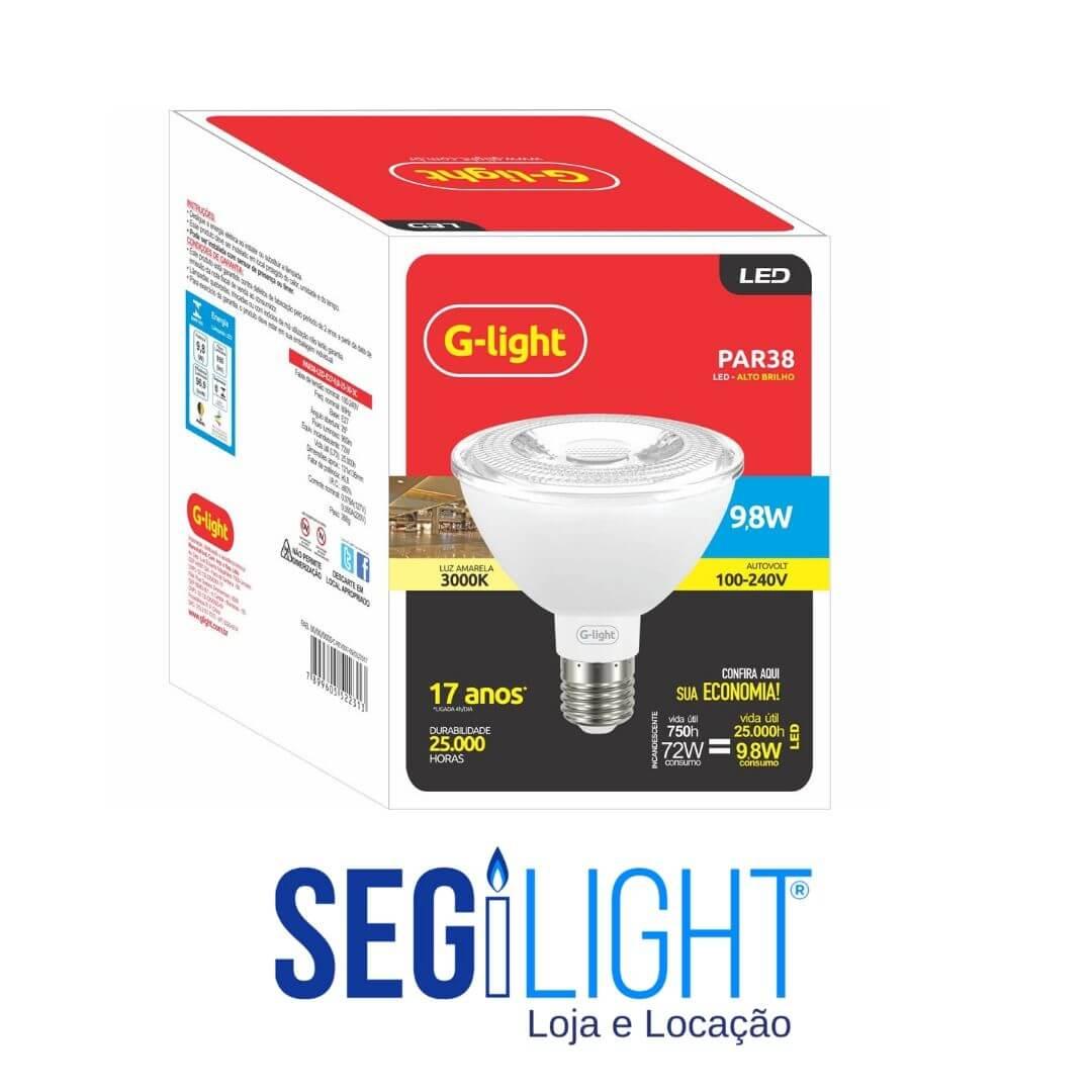 lampada par30 de led aplicação