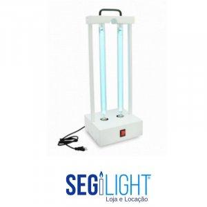 luminaria uvc para proteção e desinfecção de ambientes
