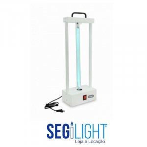 luminária germicida para desifencção de ambiente